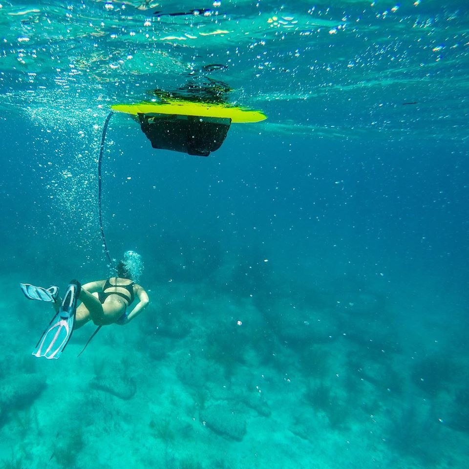 BLU3 NEMO, oppladbart dykkerutstyr. 3 meters dyp, 60 90